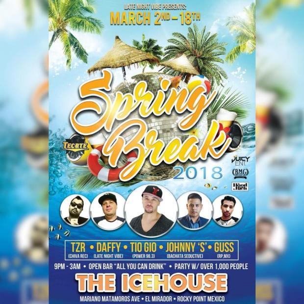 spring-break-ice-house Spring Break in Rocky Point 2018!