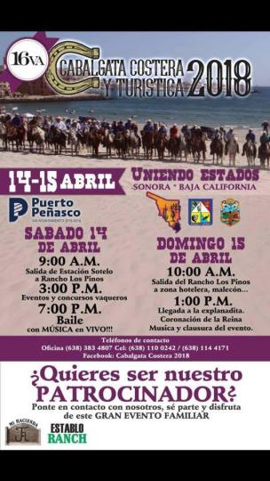 cabalgata-costera ShamRocked!  Rocky Point Weekend Rundown!