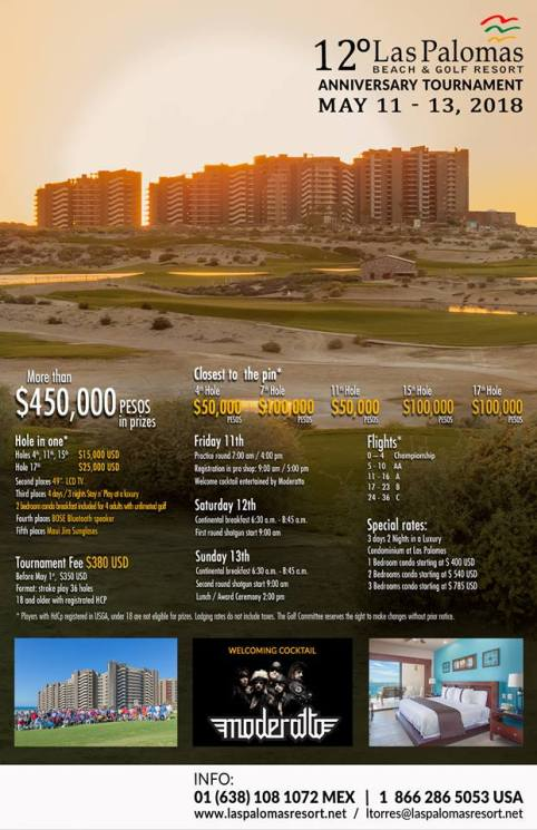 las-palomas-anniversary-golf-poster Child's Play! Rocky Point Weekend Rundown!