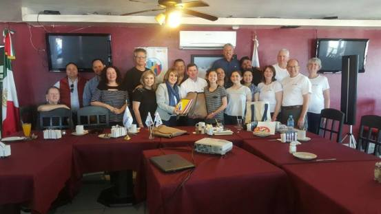 UT-backpacks-april2018 Puerto Peñasco Rotary Club delivers backpacks and inaugurates new room at local school