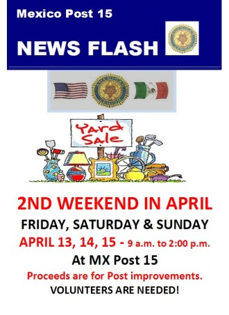 YARD-SALE-APRIL Rev up your engines (or soapbox)! Rocky Point Weekend Rundown!
