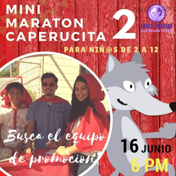 caperucita-roja Invitan a participar en Mini Maratón Caperucita  16 junio