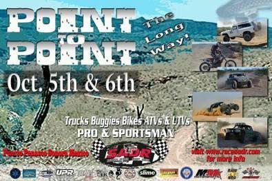 point-to-point ¡Vamos Gallo!  Rocky Point Weekend Rundown