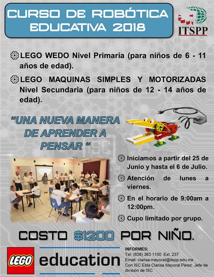 Robotica-Legos ¡Campamentos de verano 2018 en Puerto Peñasco!