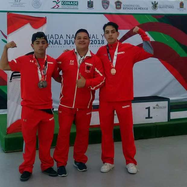 penasco-medals3-2018 Puerto Peñasco athletes bring home weightlifting / track & field medals