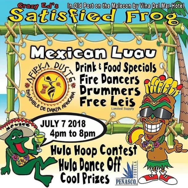 satisfied-frog-july7 Firecrackers! Rocky Point Weekend Rundown!