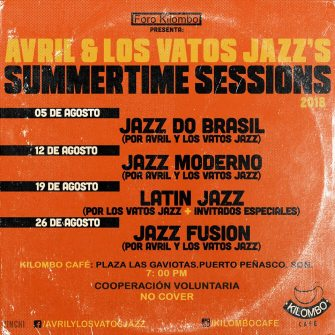 kilombo-jazz-agosto Stay cool! Rocky Point Weekend Rundown!