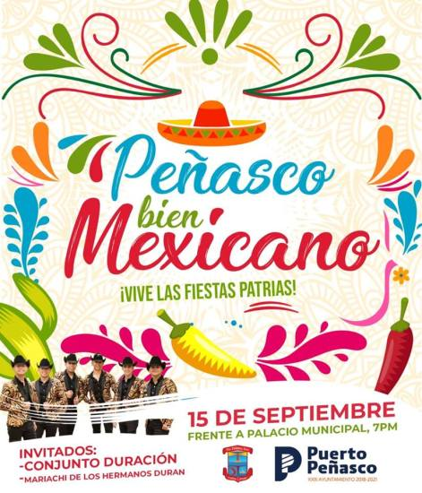 fiesta-mexicana-peñasco Labor Day in Rocky Point!  RP Weekend Rundown!