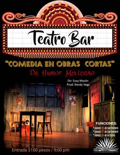 teatro-bar-poster ¡Teatro Bar en Puerto Peñasco!