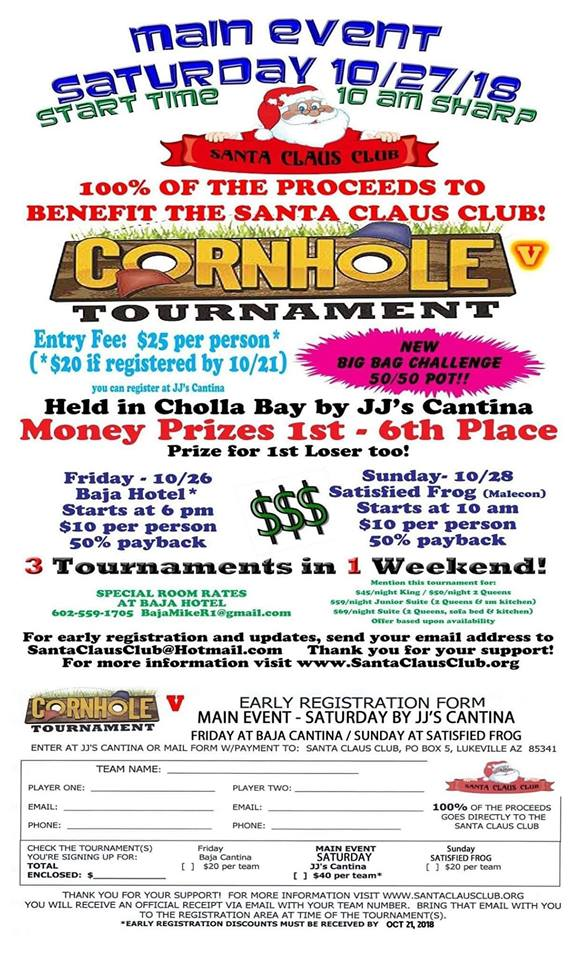 cornhole-oct-2018 Cornhole Tournament looks at urgent needs of Santa Claus Club