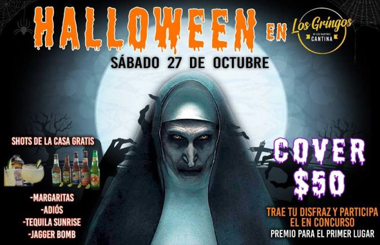 halloween-Los-Gringos Halloween Fiestas in Rocky Point!