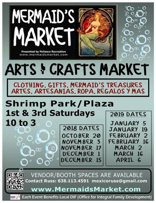 mermaids-market Sails up! Rocky Point Weekend Rundown!