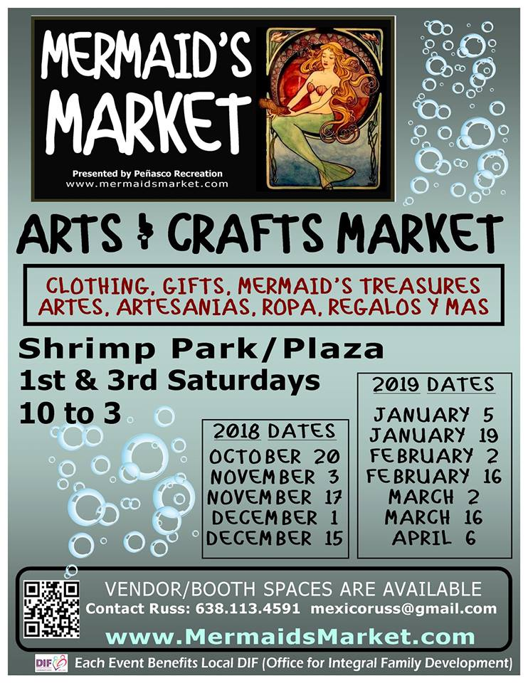 mermaids-market 5 de mayo Rocky Point Weekend Rundown!