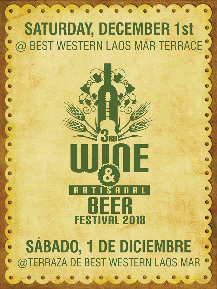 3er Festival del Vino y Cerveza Artesanal @ Tapeo -Explanada