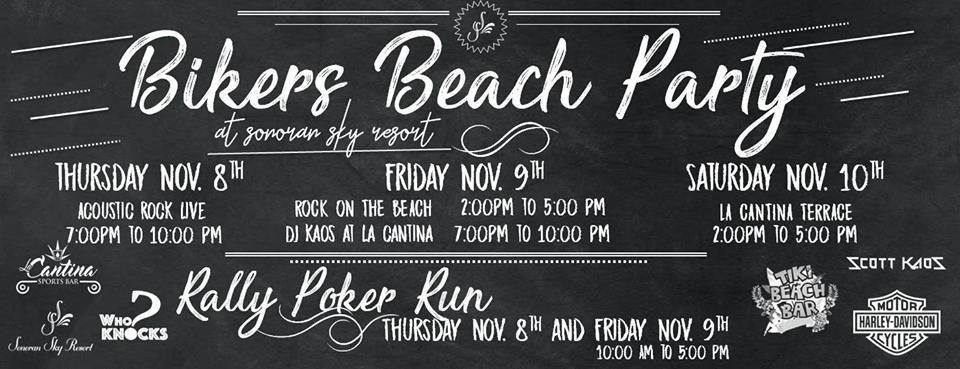 bykers-cantina Jam on!  Rocky Point Weekend Rundown!