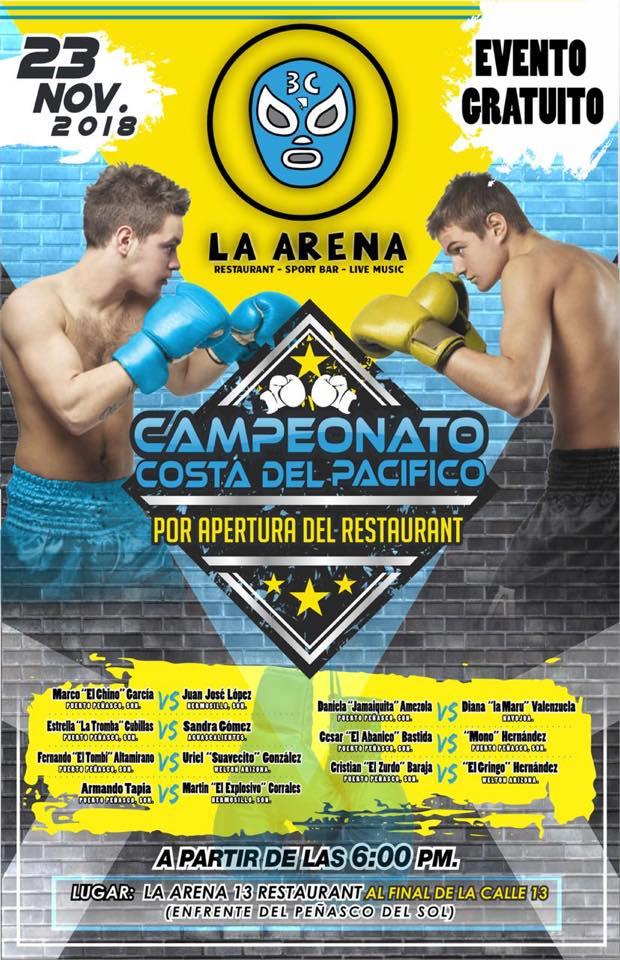 Campeonato de Box / La Arena Restaurante @ La Arena