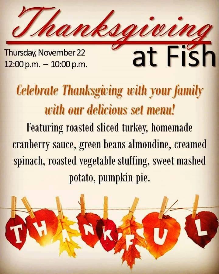 thanksgiving-at-fish Thanksgiving options in Puerto Peñasco