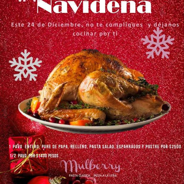 mulberry-cena-navidad Dining out in Puerto Peñasco over Christmas?