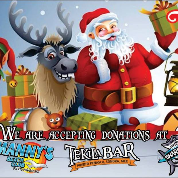 tekila-shark-mannys-toys ...one week till Navidad! Rocky Point Weekend Rundown!
