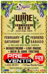 tapeo-wine-beer-presale-tickets What's not to love?  Rocky Point Weekend Rundown!