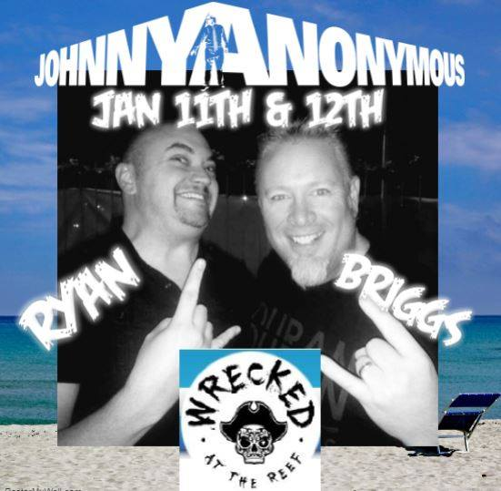 wrecked-jan11-12 Johnny Anonymous @ Wrecked