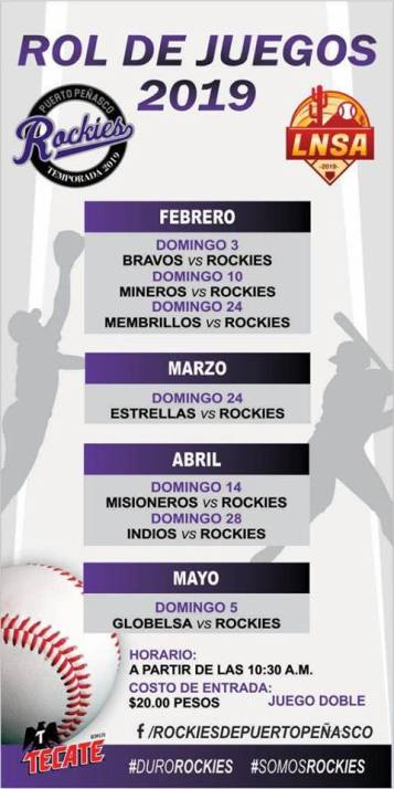 PP-Rockies-2019 Semana Santa! Rocky Point Weekend Rundown!