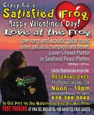 Satisfied-Frog-Valentines-19 AMOR! Valentine's Day 2019 in Puerto Peñasco