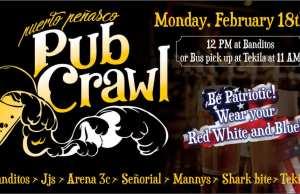 Pub Crawl! @ Banditos/Tekila Bar