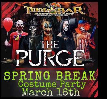 The-Purge-Tekila Hello, March! Rocky Point Weekend Rundown!