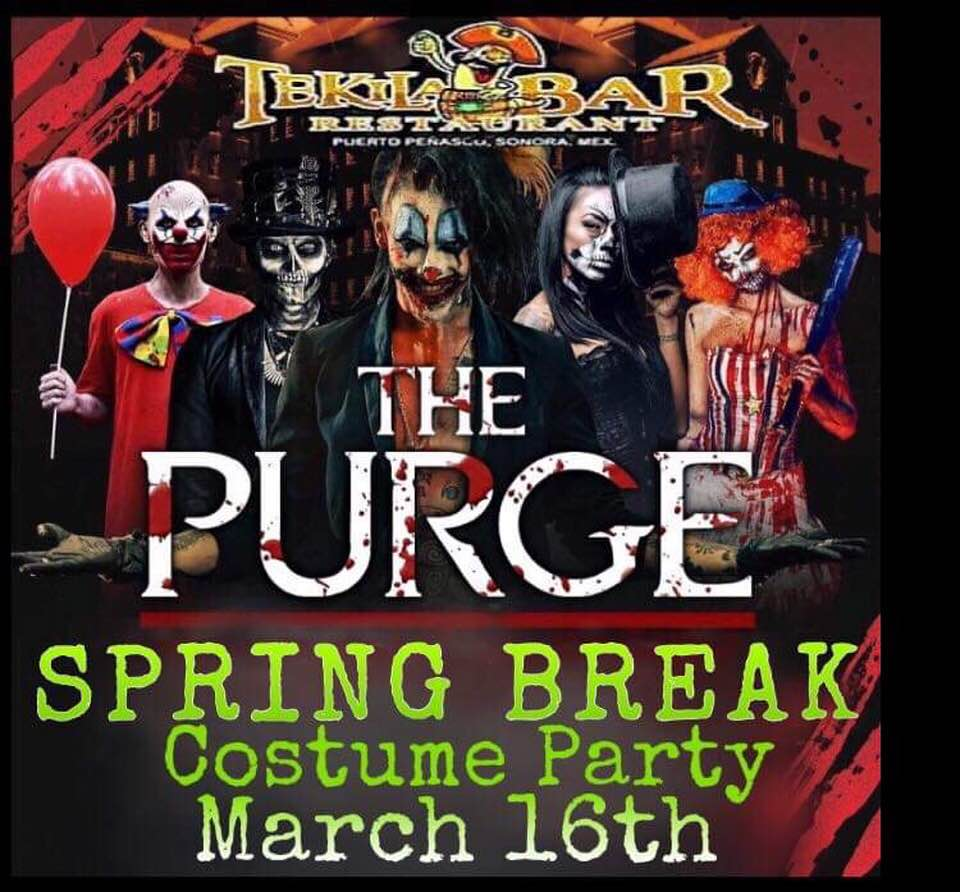 The-Purge-Tekila The Purge Costume Party @ Tekila Bar