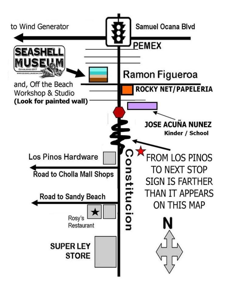 seashell-museum-map Hello, March! Rocky Point Weekend Rundown!