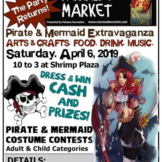 Mermaids-Market-April-19 Ahhh-pril!  Rocky Point Weekend Rundown!