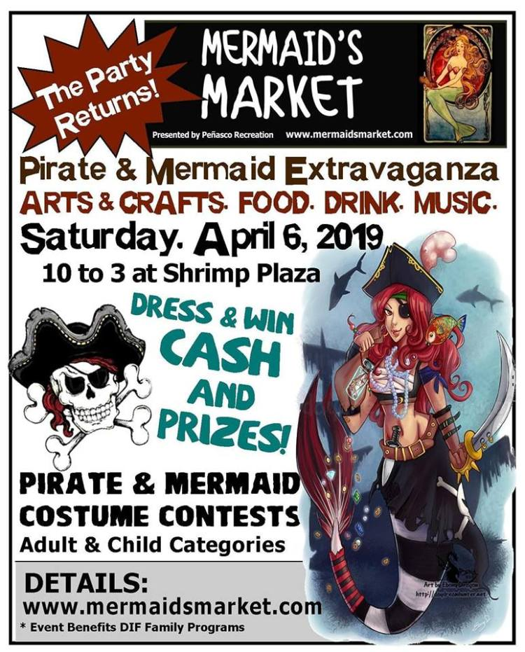 Mermaids-Market-April-19 MERMAID'S MARKET Minute - Save the Dates!