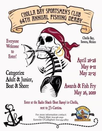 cholla-bay-fishing-tourney Derby, Music, Art & Golf! Rocky Point Weekend Rundown!
