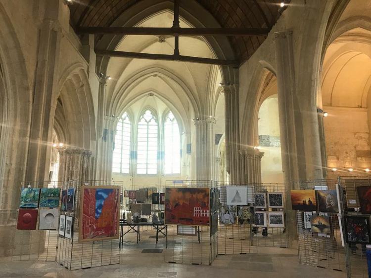 arte-sacro-francia Puerto Peñasco presente en exhibición de arte en Francia