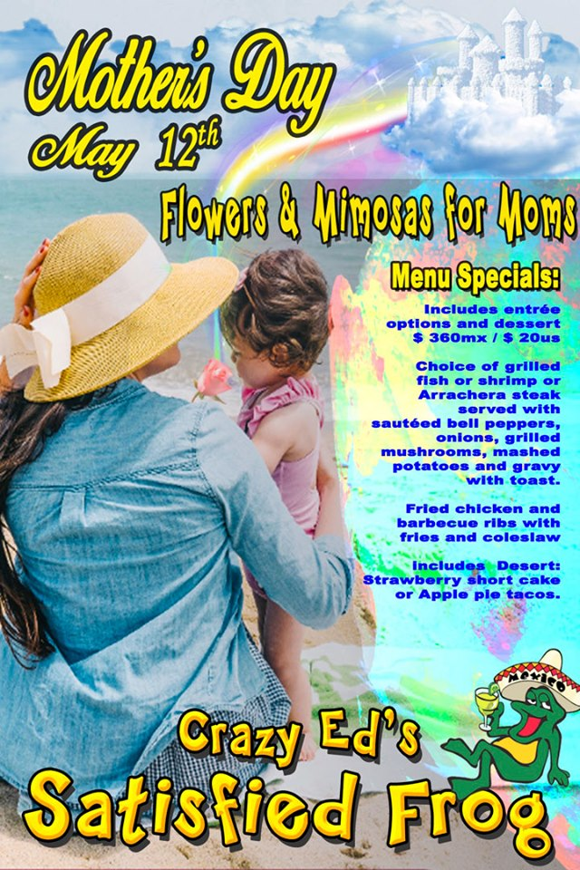 Frog-Mothers-Day-19 Ideas for Mother's Day in Rocky Point!