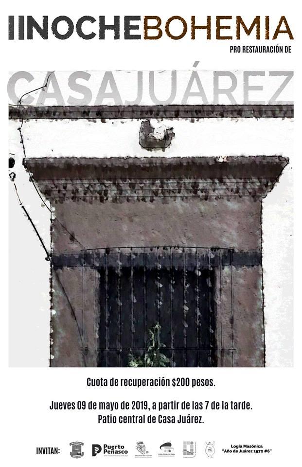 Noche-Bohemia-2-19 Restoration of Benito Juarez home seeks to obtain heritage status