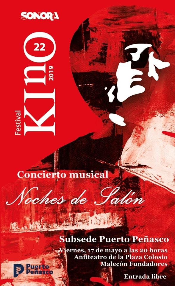 """kino-fest-may-2019 Festival Kino 2019 - subsite Peñasco """"Noches de Salón"""""""