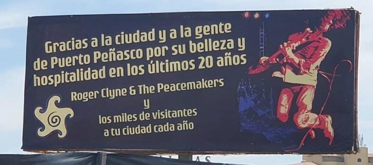circus-billboard Highlighting the impact of Circus Mexicus on Puerto Peñasco