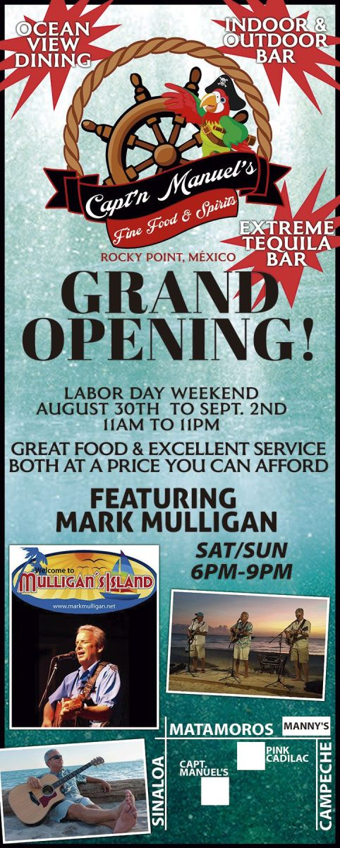 Captn-Manuel-grand-opening-19-482x1200 Labor Day 2019 Rocky Point Weekend Rundown!