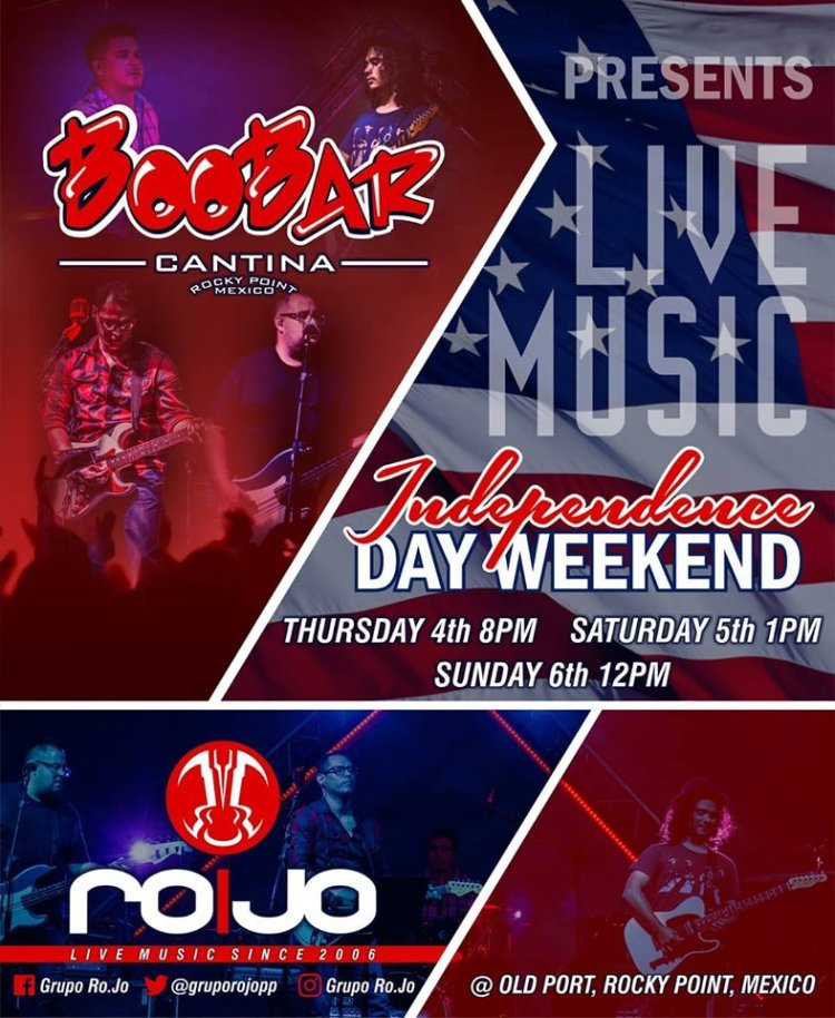 july-4-boo-bar Live music Independence Weekend @ BooBar