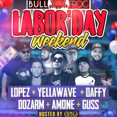 Bull-Frog-Labor-Day-19 Labor Day Weekend in Rocky Point 2019!