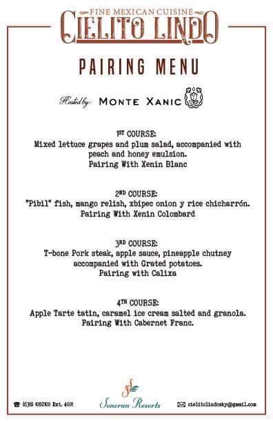 Cielito-Lindo-Wine-Pairing-Menu-August-19 Cielito Lindo Tasting Dinner with Special Wine Pairings