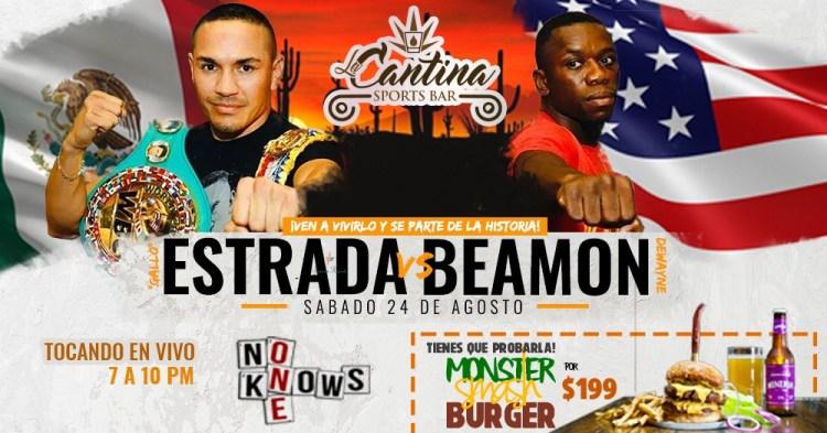 Estrada-vs-Beamon-at-La-Cantina-19 Gallo Estrada - Aug. 24th!