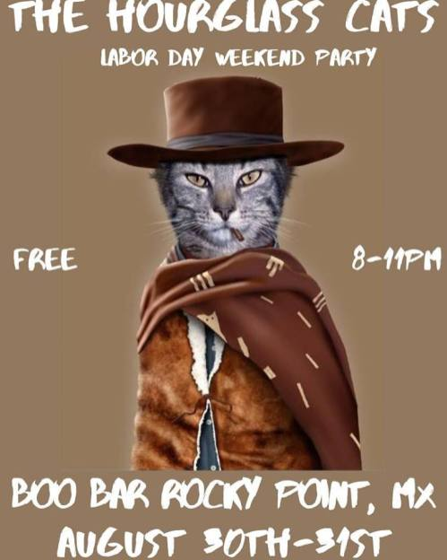 Hourglass-cats-Labor-Day Labor Day 2019 Rocky Point Weekend Rundown!