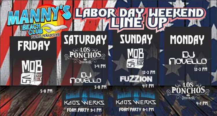 labor-day-mannys Labor Day 2019 Rocky Point Weekend Rundown!