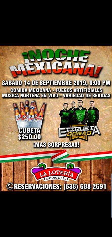 Independence-Day-La-Loteria-19 Noche Mexicana en La Loteria Cantina & Grill