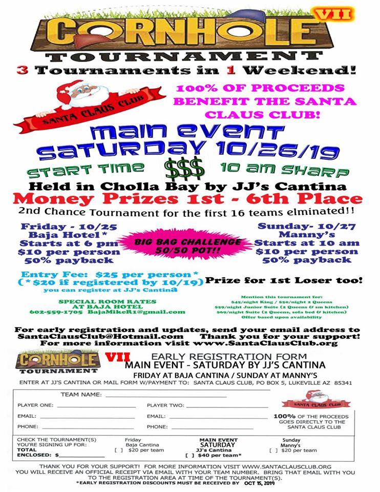 Santa-Claus-Club-Cornhole-Tourney-19 Color the town! Rocky Point Weekend Rundown!
