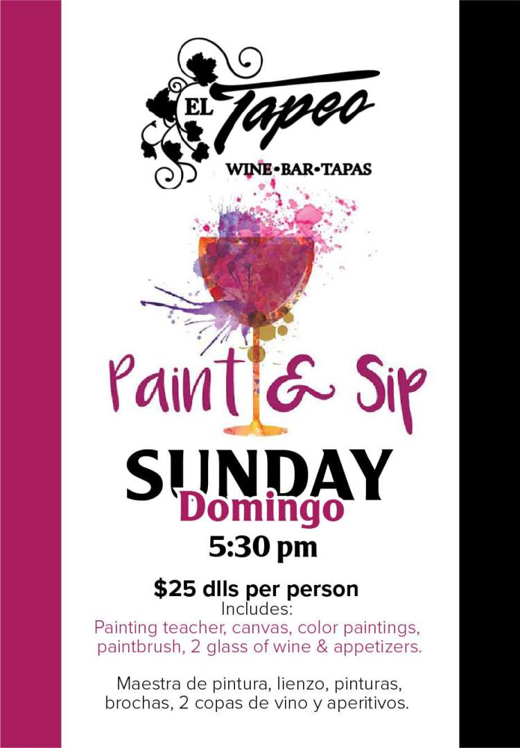 Paint-Sip-Club-Tapeo-Sundays-19-835x1200 Let's Beach! Rocky Point Weekend Rundown!