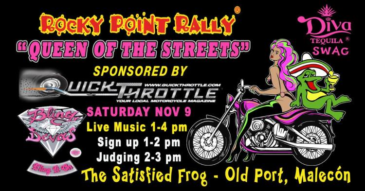 "Rocky-Point-Rally-Quick-Throttle-19 RP Rally ""Queen of the Streets"" Bike Show"